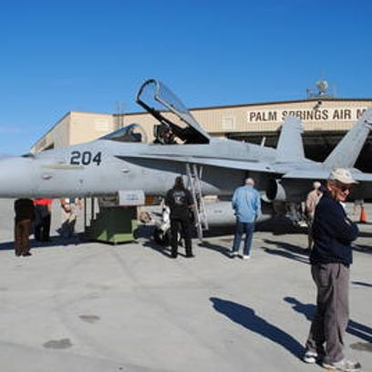 A Miramar-based Marine pilot was killed when his F/A-18C Hornet, similar to this jet, crashed near Twentynine Palms on Thursday, July 28, 2016.