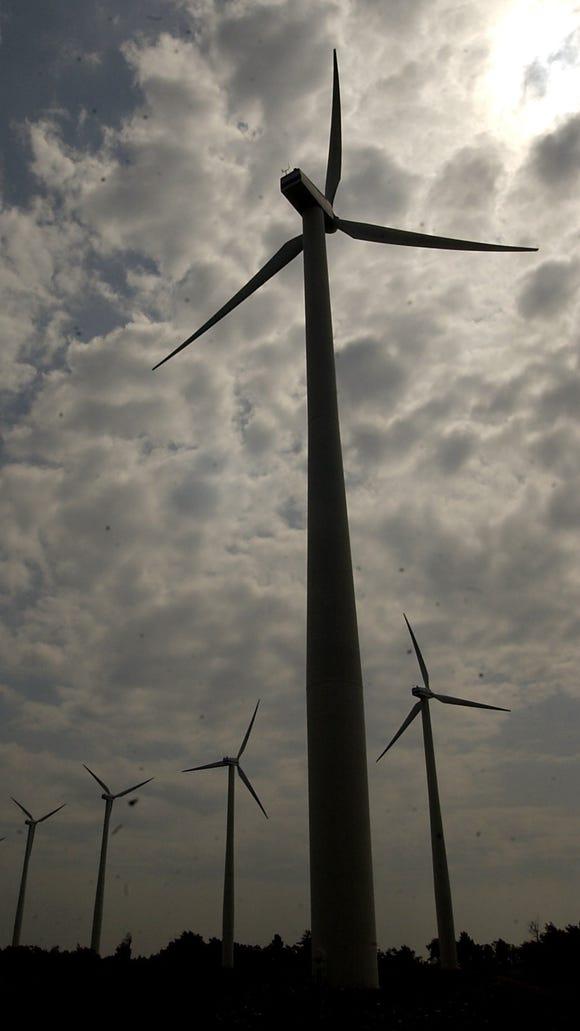 Wind Farm in Wethersfield, Wyoming County.