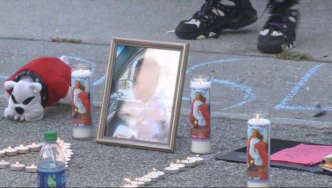 Friends and family hold a vigil for 13-year-old Malachi Hemphill, who family says accidentally shot and killed himself while live on Instagram.