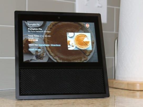 Recipes Amazon Echo Show