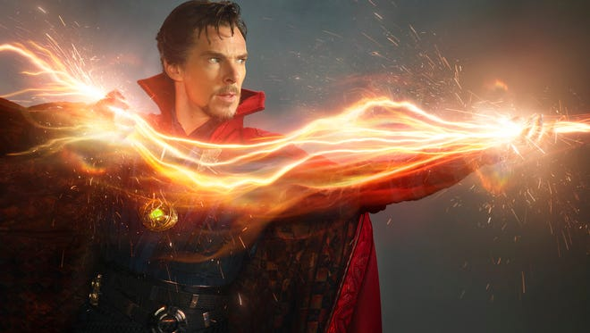 Benedict Cumberbatch brings magic into the Marvel Cinematic Universe as 'Doctor Strange.'