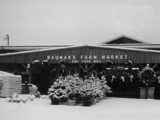 Bauman's Farm Market, circa 2008.
