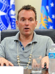 Secretary of the Army Eric Fanning speaks during a