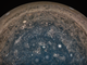 NASA's Juno spacecraft took this image directly over Jupiter's south pole.