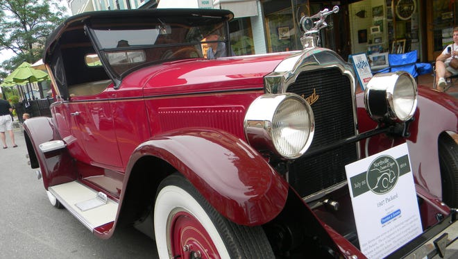 This 1907 Packard was one of the highlights in last year's preview event.
