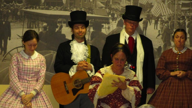 Simply Dickens sings Dec. 9 at the Plymouth Historical Museum.