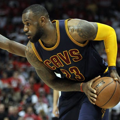 LeBron James and the Cleveland Cavaliers took a 2-0