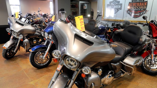 New 2018 Harley-Davidson motorcycles and popular used motorcycles are selling at Suburban Motors in Thiensville.