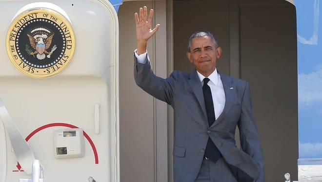 President Obama on Nov. 17, 2015, south of Manila.