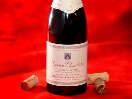 7. Pierre Gelin 2014 Gevrey Chambertin, Burgundy, France ($40-$50)