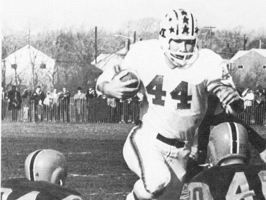 Middletown quarterback Dixie Abdella led the Lions
