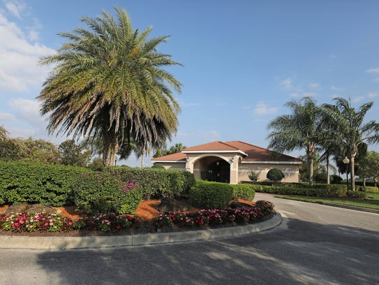 The clubhouse at The Grove in Lehigh Acres stands in
