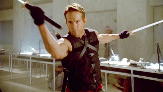 "Ryan Reynolds is reprising his role as wise-cracking mercenary Wade Wilson in ""Deadpool."""
