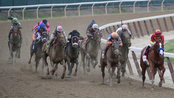 AP BELMONT TRIPLE CROWN HORSE RACING S RAC USA NY