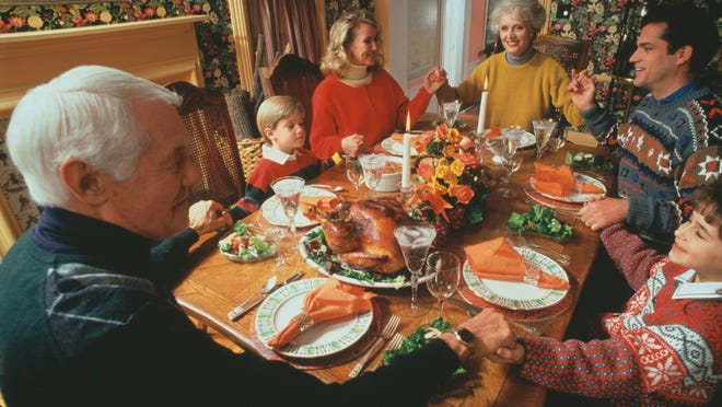 Saying grace at Thanksgiving doesn't have to be a pressure-filled event.