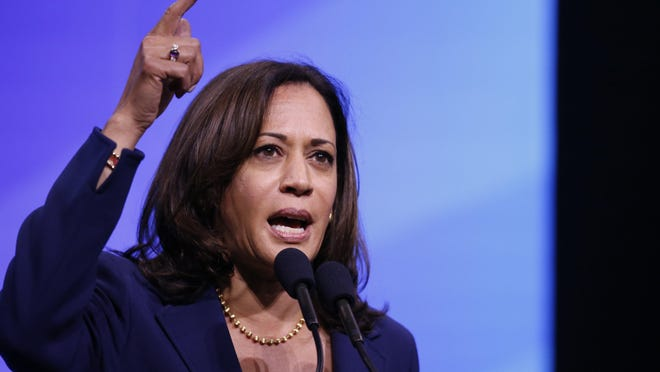 U.S. Sen. Kamala Harris, D-California, was chosen Tuesday to be the running mate of former Vice President Joe Biden, the presumptive Democratic presidential candidate.
