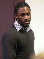 Kiereek Seymour Jr. appears at a hearing to confirm