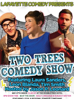 Check out who's coming to the Two Trees Comedy show