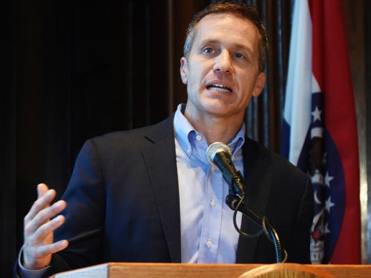 Missouri Governor Indicted