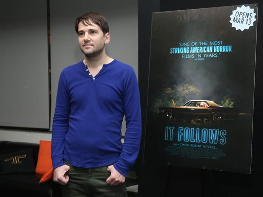 """Director David Robert Mitchell attends the New York screening of """"It Follows"""" at Walter Reade Theater on February 25, 2015 in New York City."""
