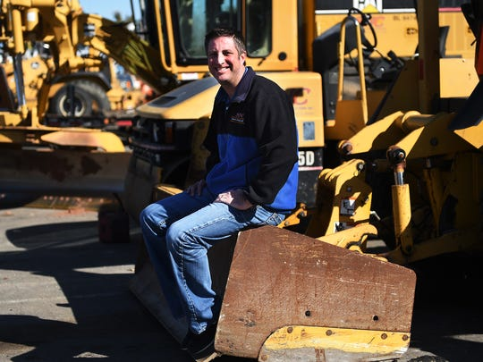 Sierra Nevada Construction Vice President Craig Holt poses for a portrait in Sparks on March 5, 2015.