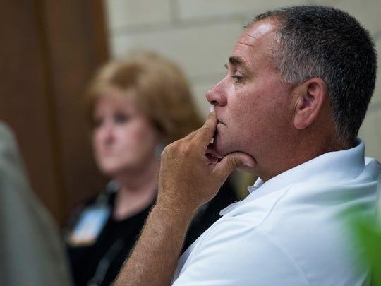 Montgomery City Councilman Glen Pruitt speaks as the