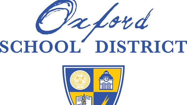 The Oxford school district logo