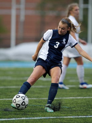 Grand Ledge's Cassidy Pettinger is one of the top goal scorers and assists leaders in the Lansing area.