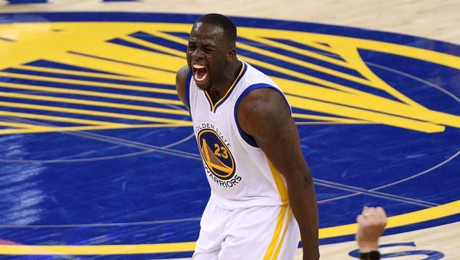 Draymond Green and the Warriors are two wins from back-to-back titles.