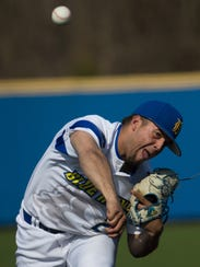 Delaware pitcher Kyle Hinton.