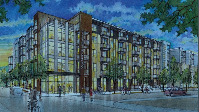 Construction is expected to start in early March on the Fountains at Germantown apartment complex.