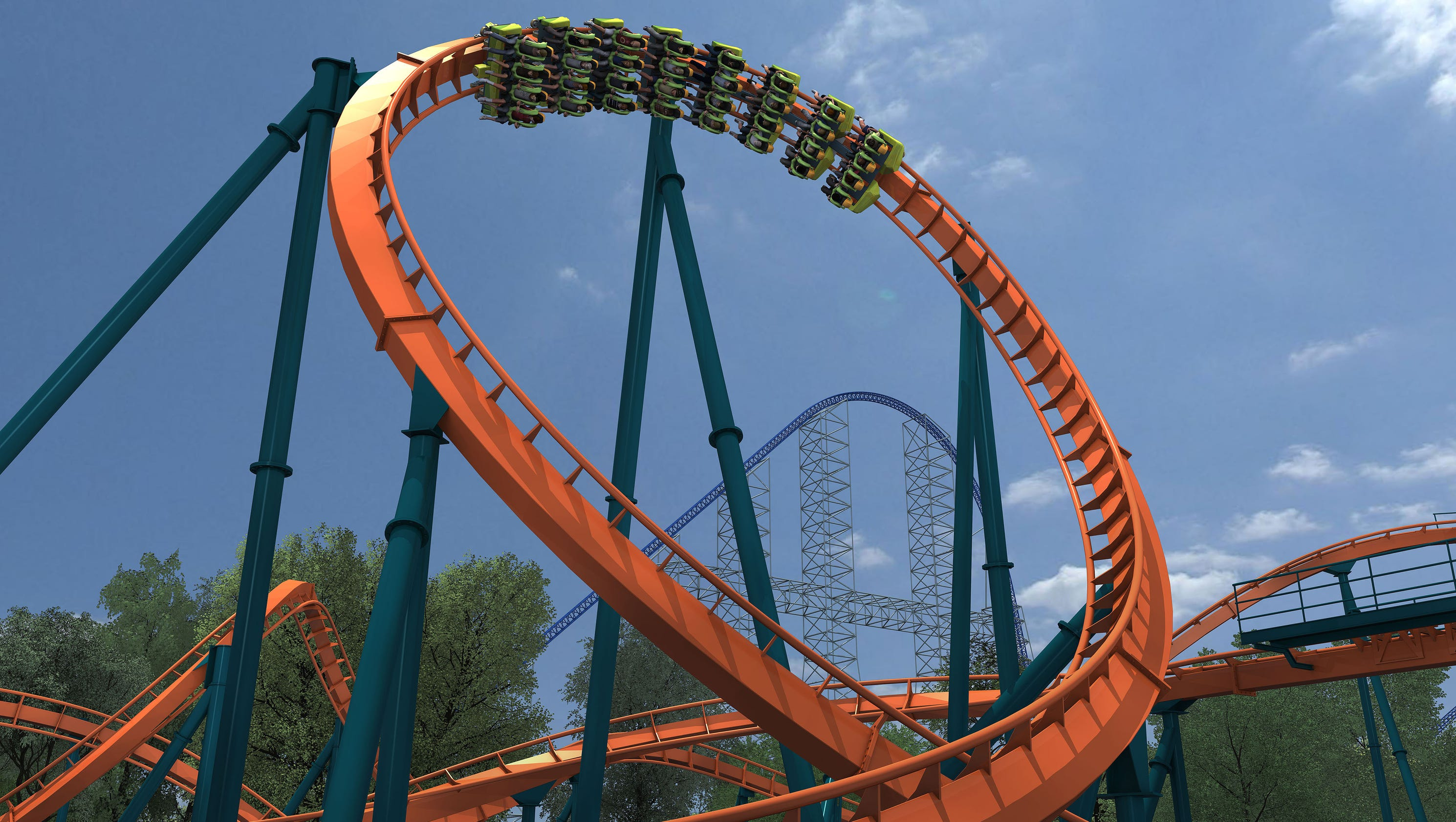 be the first to ride cedar point 39 s new rougarou coaster. Black Bedroom Furniture Sets. Home Design Ideas