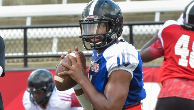 UL quarterback Anthony Jennings was officially declared as the Cajuns' No. 1 quarterback after Tuesday's practice.