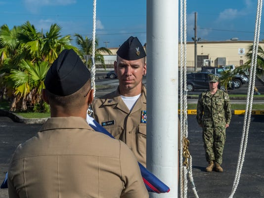 30th Naval Construction Regiment (NCR) Headquarters Relocated to Guam