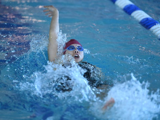 Passaic County boys and girls swimming tournament