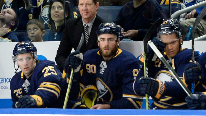 Buffalo Sabres Phil Housely has had a challenging NHL head coaching debut. His team was one point better than Arizona for last place overall.
