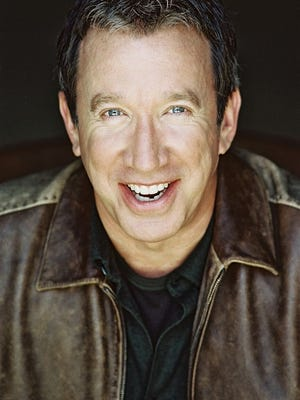 Actor Tim Allen performed at Artis-Naples on Friday.