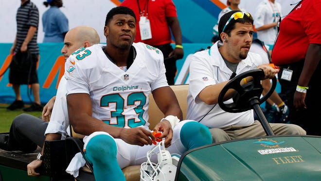 Dolphins RB Daniel Thomas may miss the rest of this season.