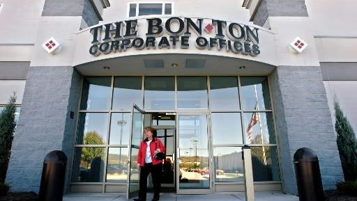 The Bon-Ton Stores Inc. posted a loss of $34 million, or $1.72 a share, for the three months ended Oct. 31.  The company has corporate headquarters in Springettsbury Township and Milwaukee.