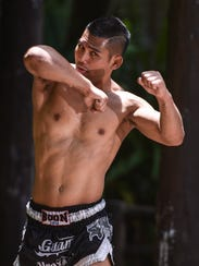 Mixed martial artist and Muay Thai fighter Joe Gogo,