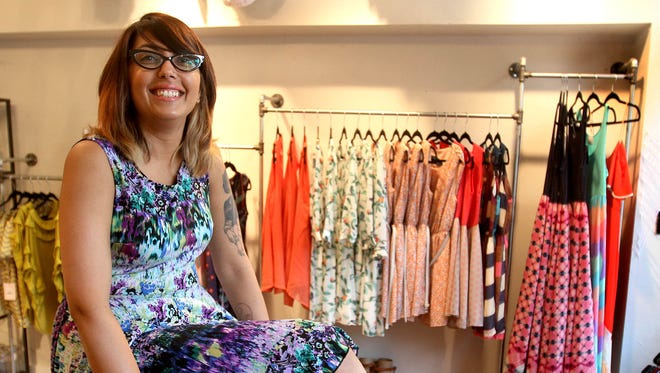 Tanvi Asher of Rochester at her Park Avenue shop, Peppermint.