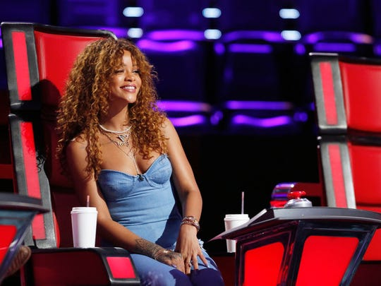 """Rihanna was a key advisor for the contestants, readying them for the Knockout Rounds on """"The Voice."""""""