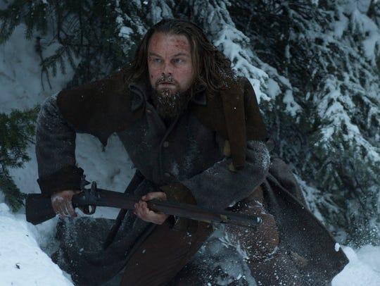 Leonardo DiCaprio stars as frontiersman Hugh Glass