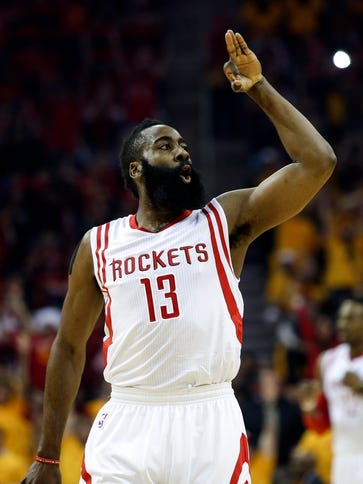 James Harden was a distant second in MVP voting.