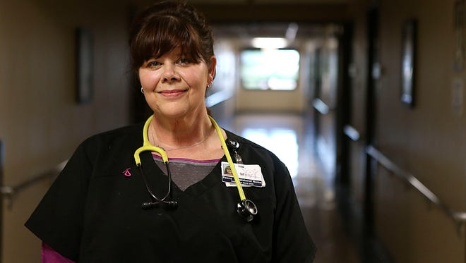 Penny Stewart, with more than 30 years in the medical field, is a nurse in the intensive-care unit at San Angelo Community Medical Center.
