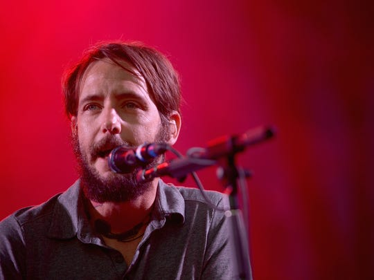 Ben Bridwell of Band of Horses performs onstage during