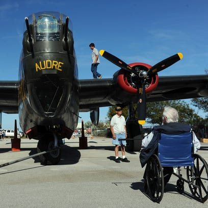 Rare aircraft open to the public at Witham Field
