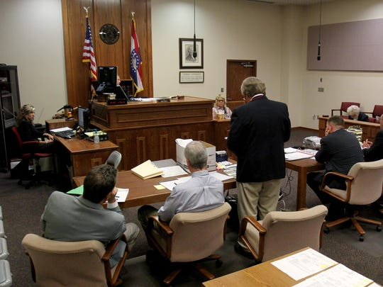 A public defender represented Craig Michael Wood, the man convicted of kidnapping and killing Hailey Owens in his 2014 trial. Greene County is now chipping in to help pay for private attorneys to handle some felony cases amid a growing jail population.
