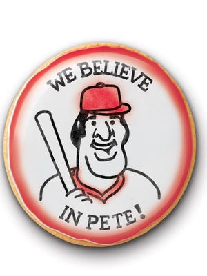 The Pete Rose cookie from Busken. Each store will post how many are sold.