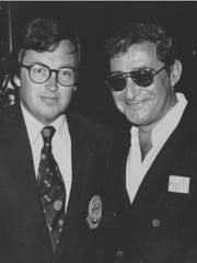 Tim Ryan (left) with legendary boxing promoter Bob Arum.